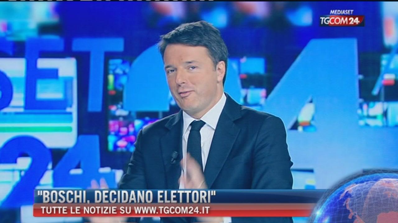 """Breaking News delle ore 16.00: """"Boschi, decidano gli elettori"""""""