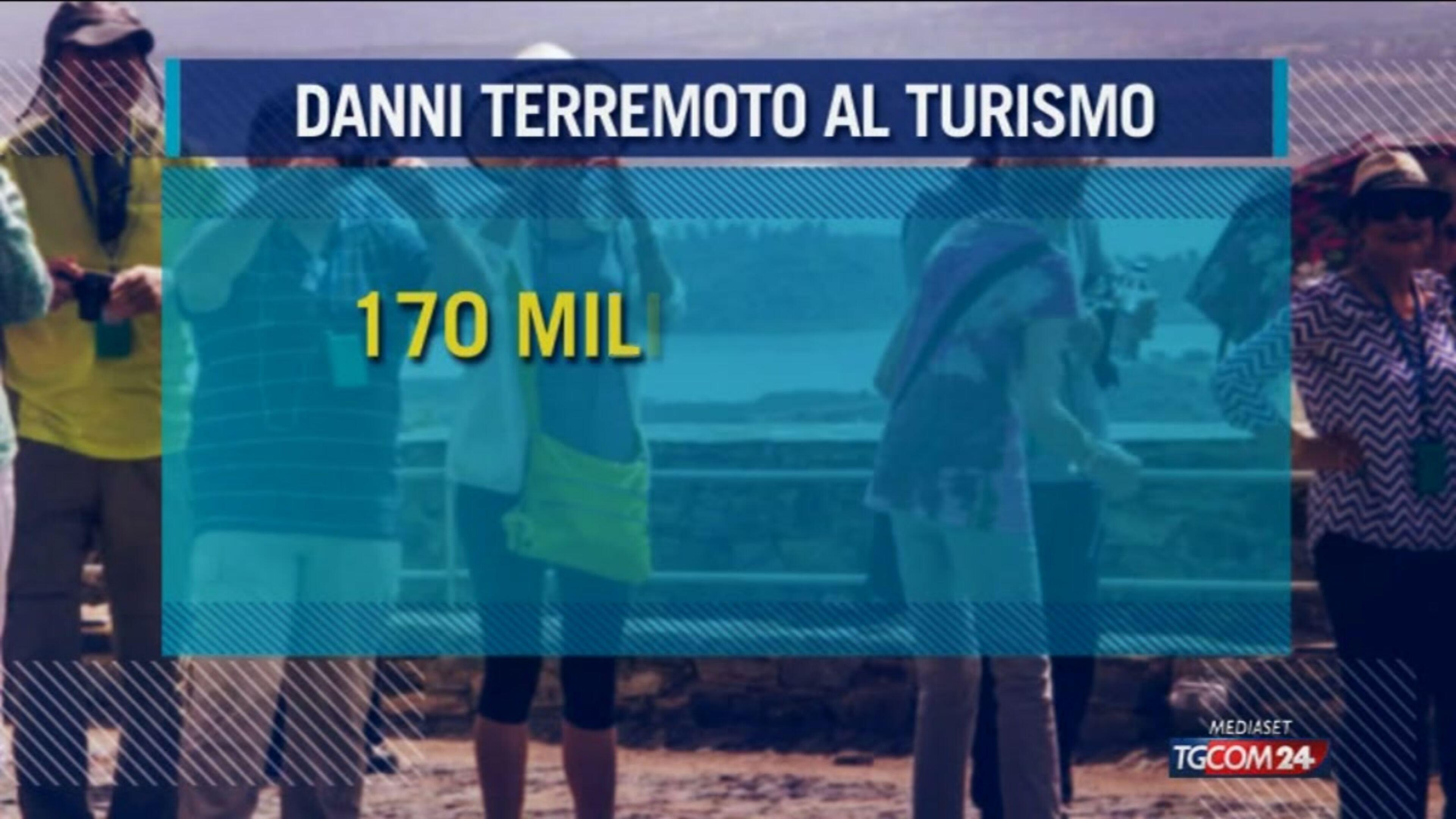 Sisma Centro Italia, Camera commercio: danni a turismo per 170 mln
