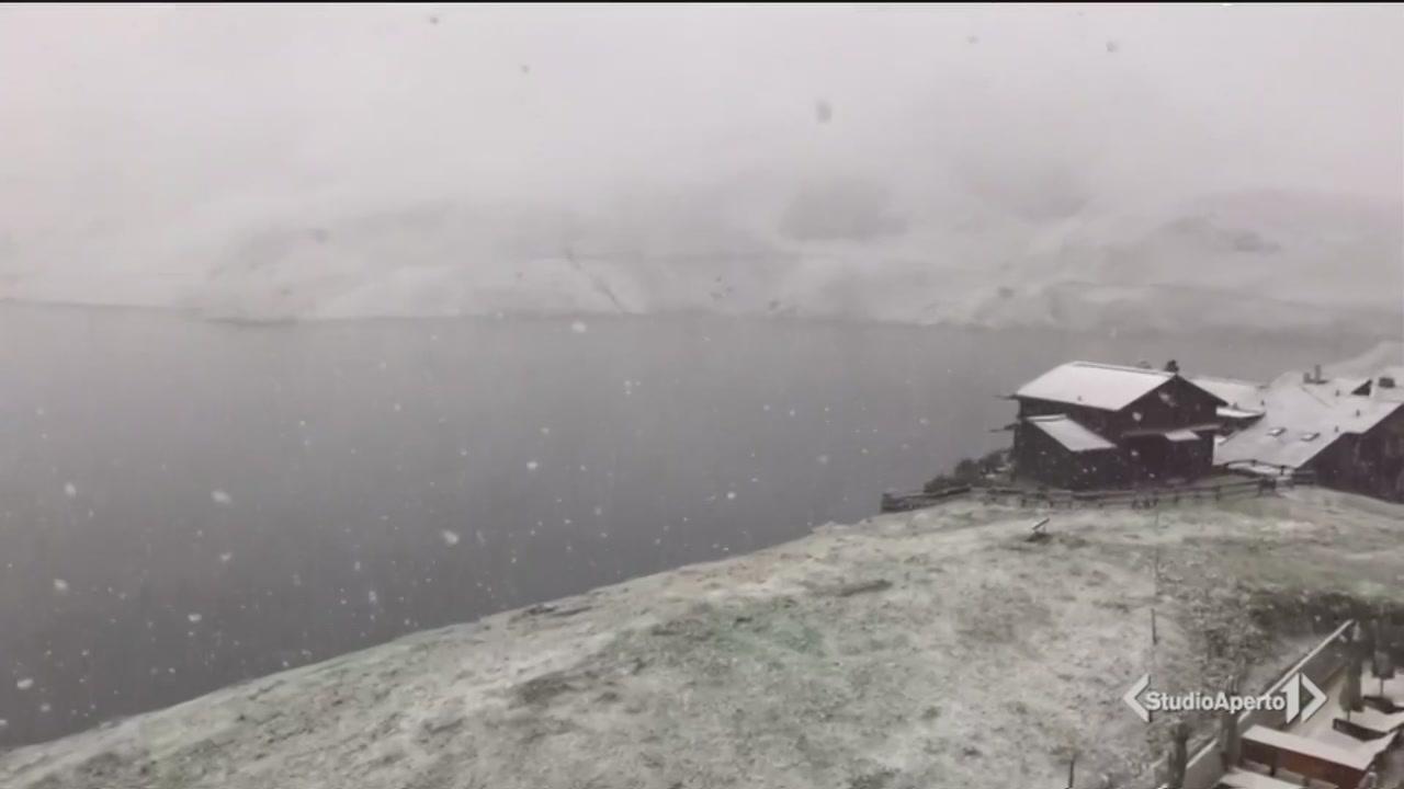 E in montagna arriva la neve