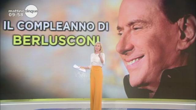 Auguri Presidente! Gli auguri di Ennio Doris a Silvio Berlusconi