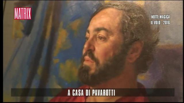 A casa di Pavarotti