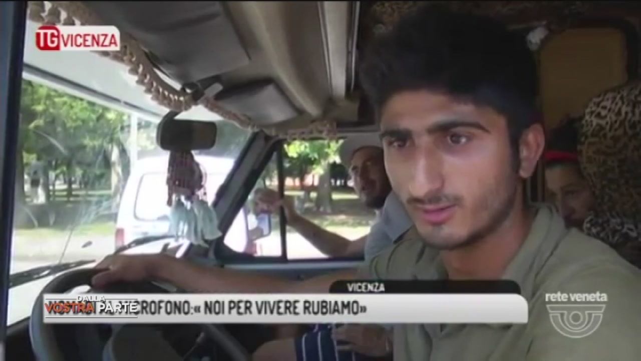 Noi, vittime dei rom