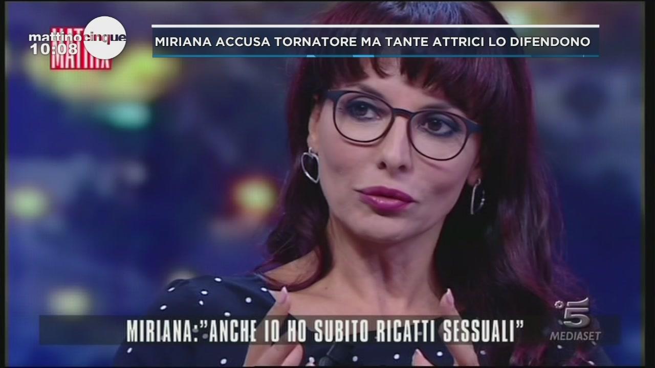 Miriana accusa Tornatore, ma tante attrici lo difendono