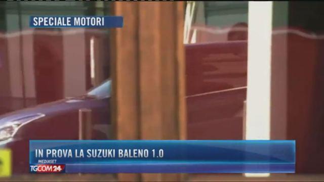 In prova la Suzuki Baleno 1.0
