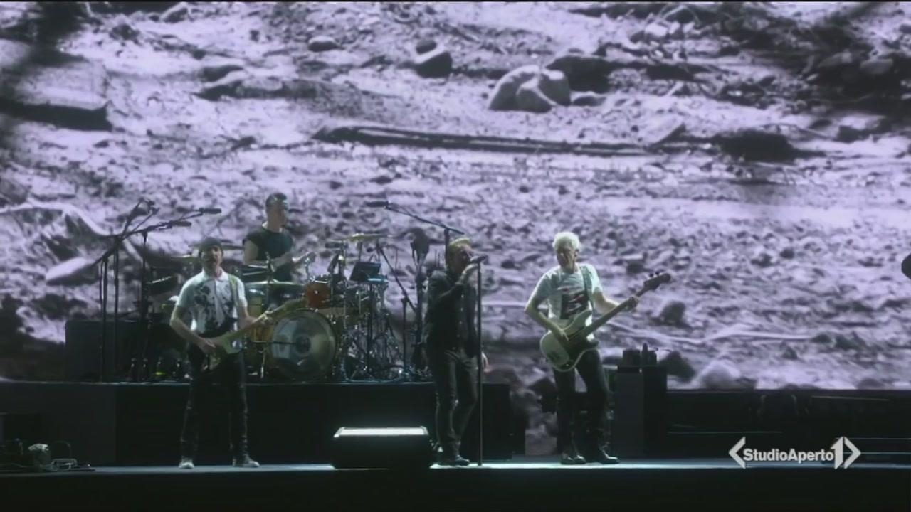 120mila per gli U2 a Roma