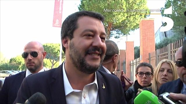 Matteo Salvini al Maurizio Costanzo Show