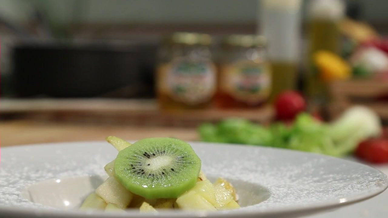 La ricetta dello chef con utilizzo di miele