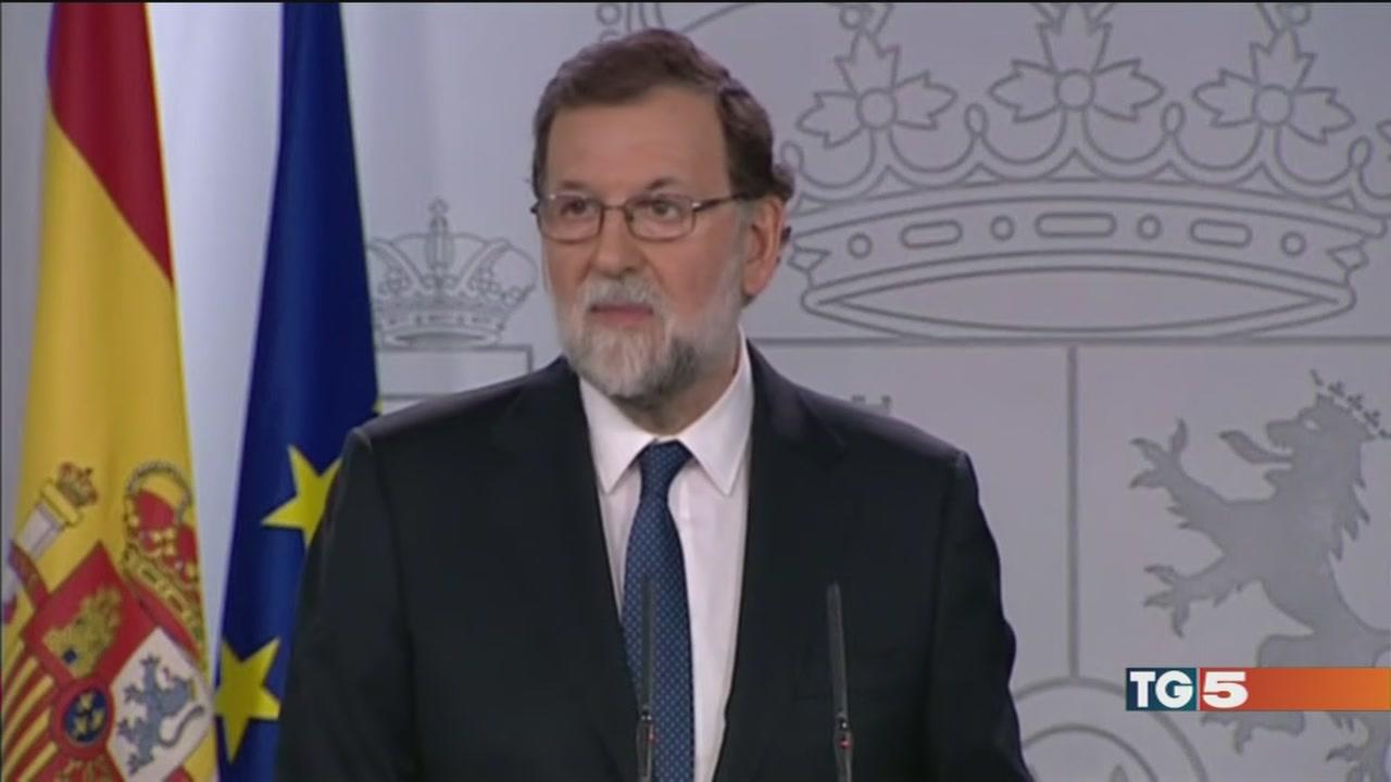 Madrid cancella il governo catalano