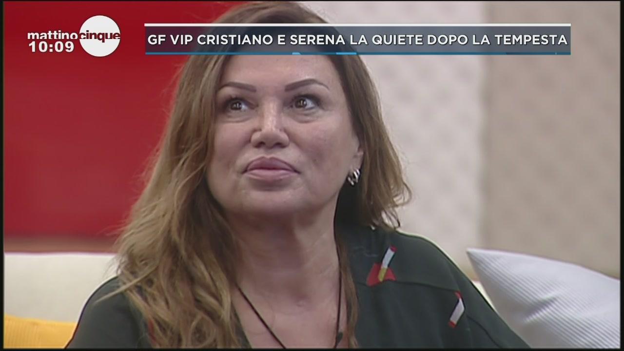GF Vip: Cristiano vs Serena