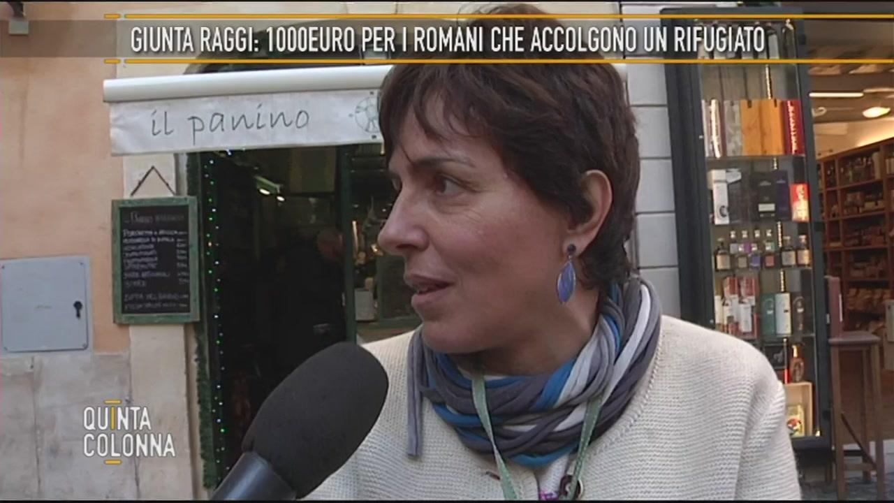 """""""MIlle euro al mese se ospiti un migrante a Roma"""""""