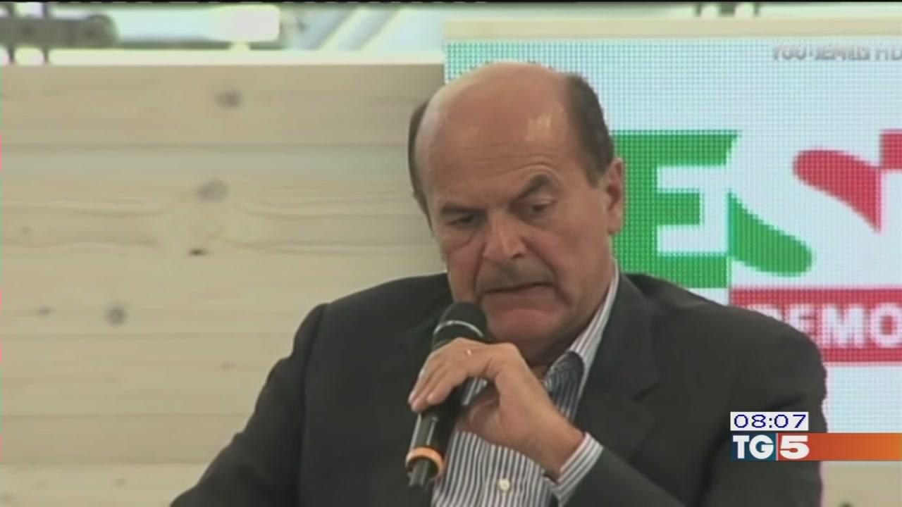 Legge di stabilità, Bersani sfida il governo
