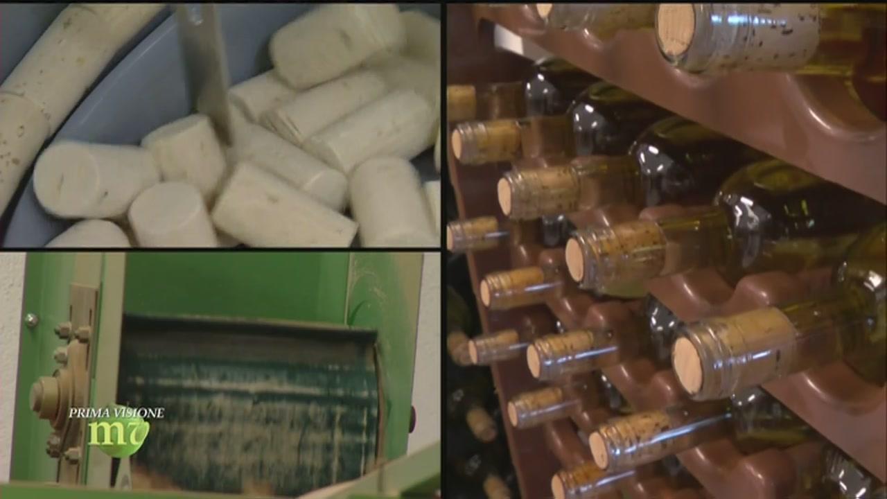 La produzione dei tappi di sughero