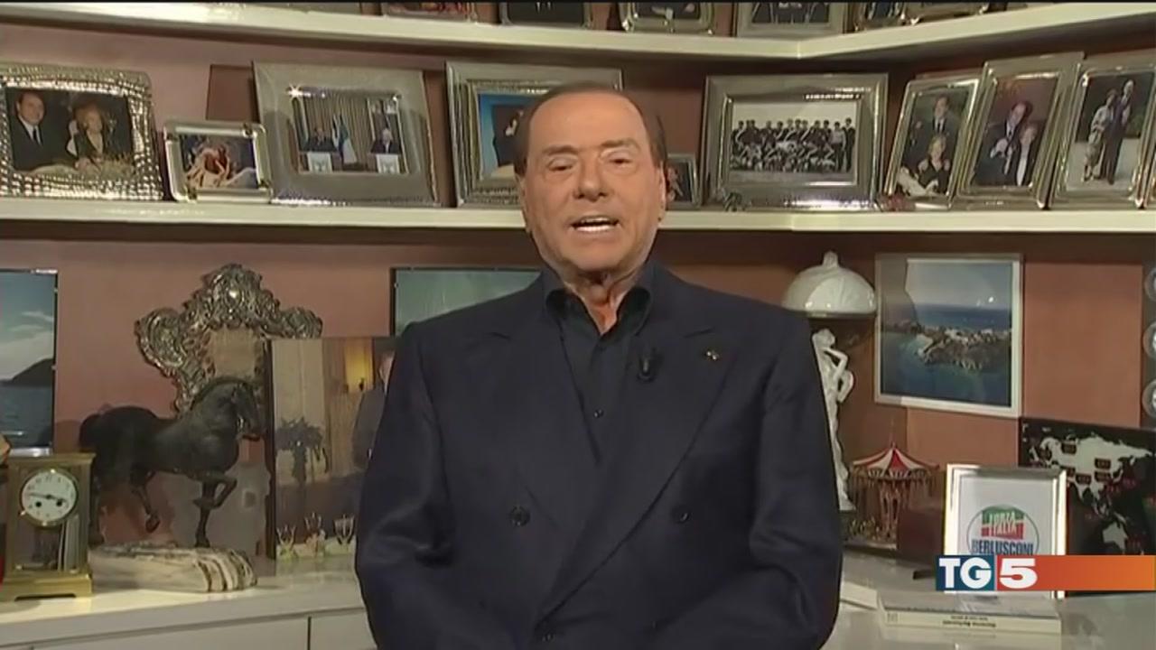 Berlusconi: intesa a 4 Grillo: nessuna alleanza