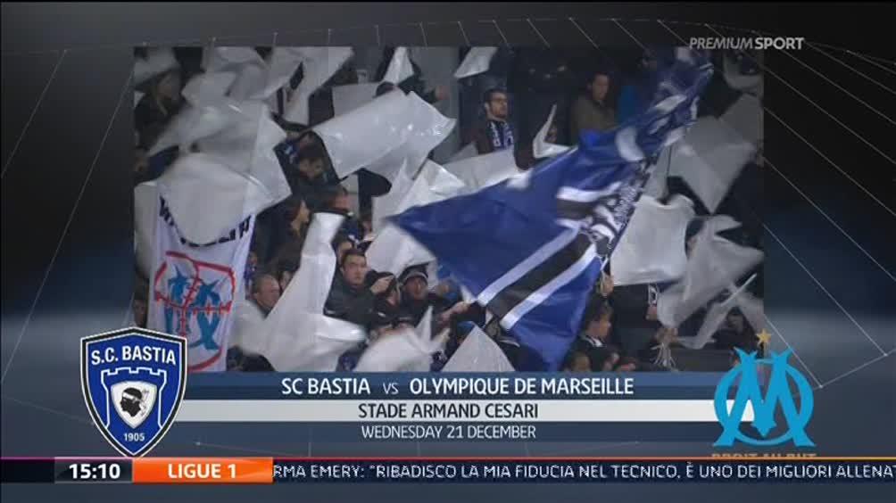 Bastia - Olimpique Marsiglia 1-2