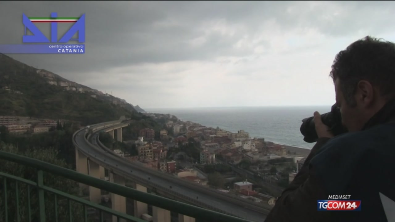 Bufera su Autostrade Sicilia