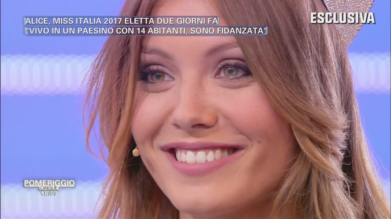Alice Rachele Arlanch - Miss Italia 2017 - Intervista Esclusiva