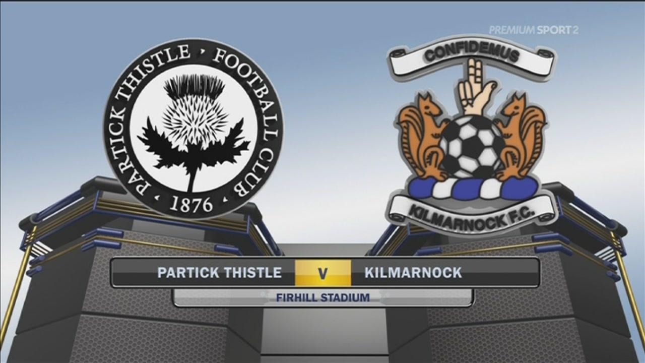 Partick Thistle-Kilmarnock 0-2