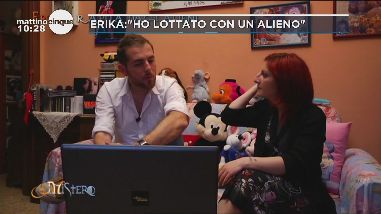 "Erika:""Ho lottato con un alieno"""