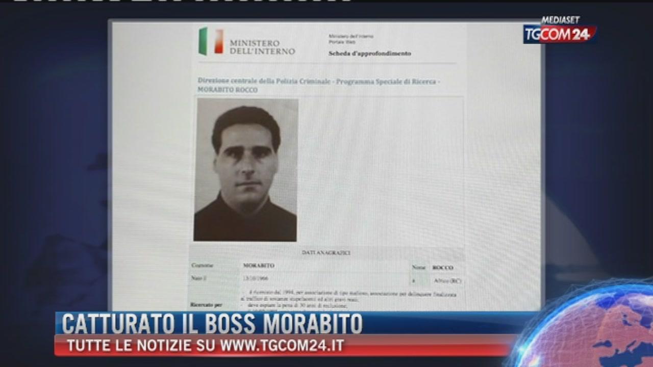 'Ndrangheta, catturato in Uruguay il superlatitante Rocco Morabito