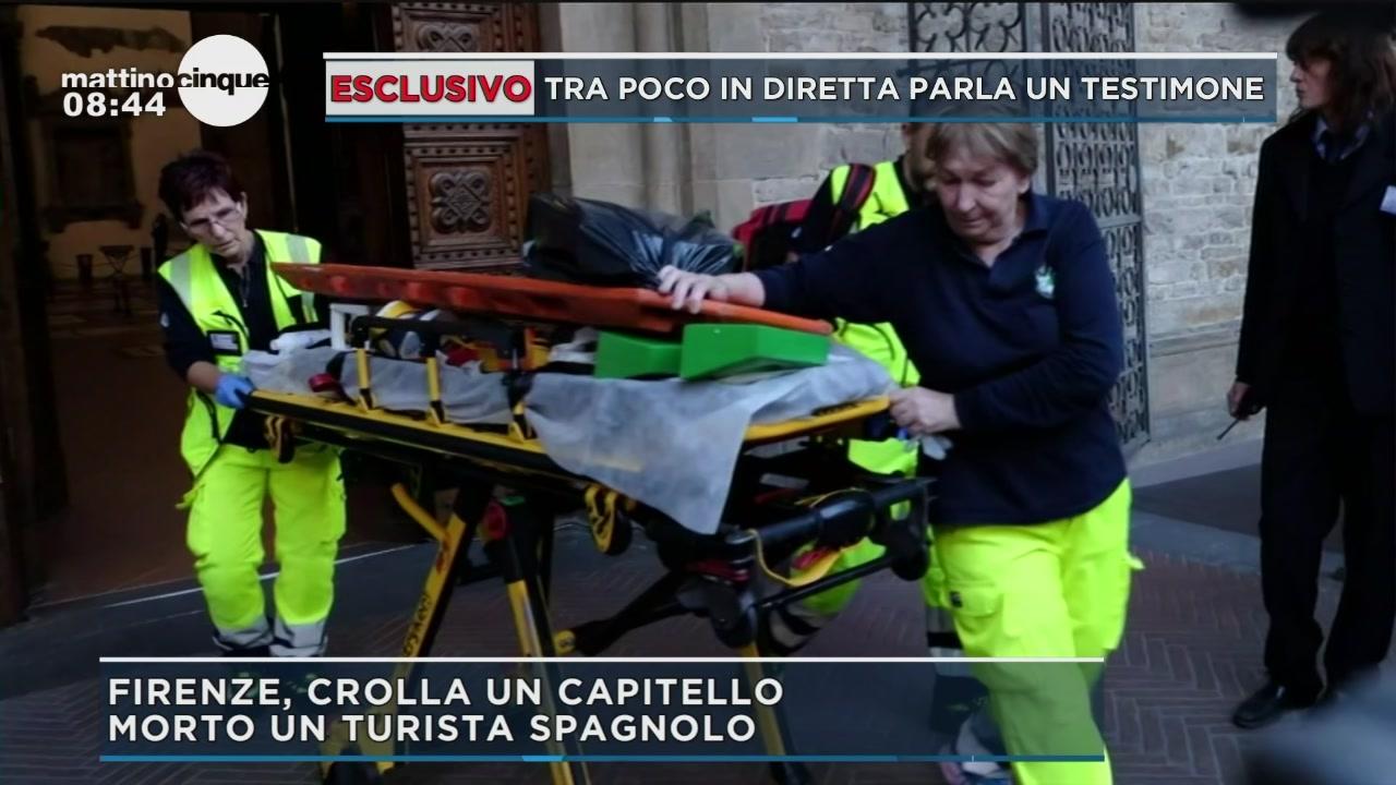 Firenze Santa Croce, la tragedia del capitello