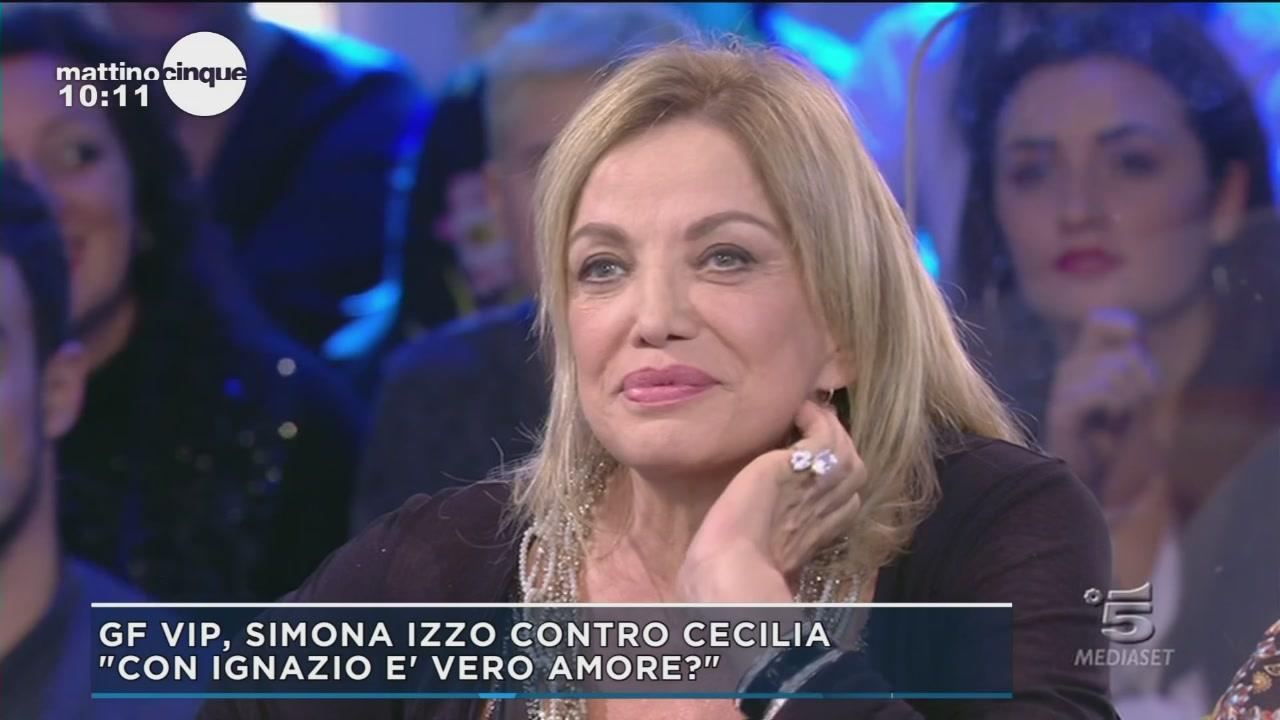 GF Vip 2: Simona Izzo contro Cecilia