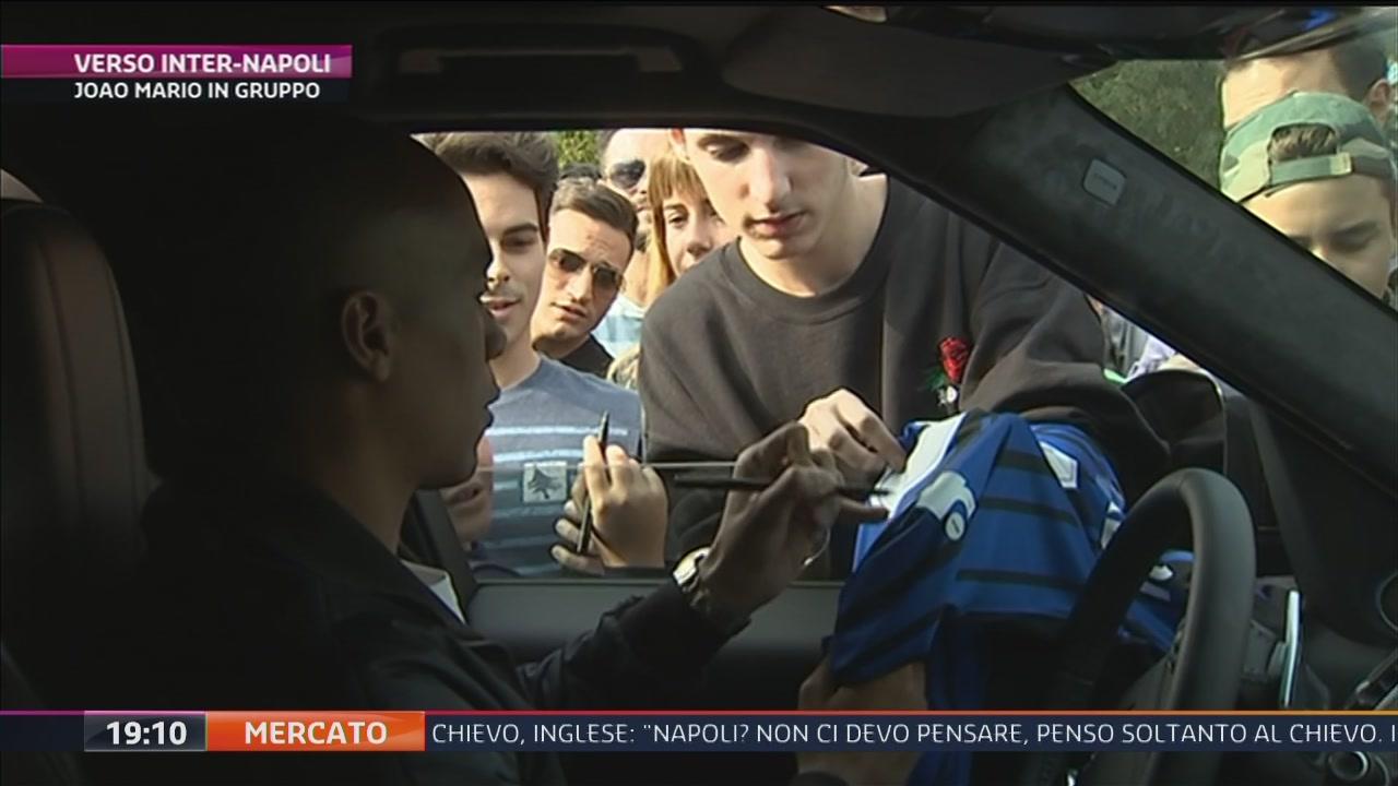 Inter, Joao Mario in gruppo