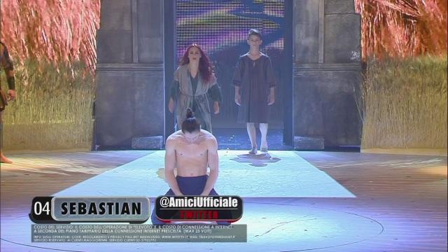 Sebastian – Il Gladiatore – La Finale di Amici 16