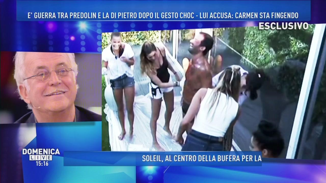 Carmen Di Pietro e la mutanda di Gianluca Impastato