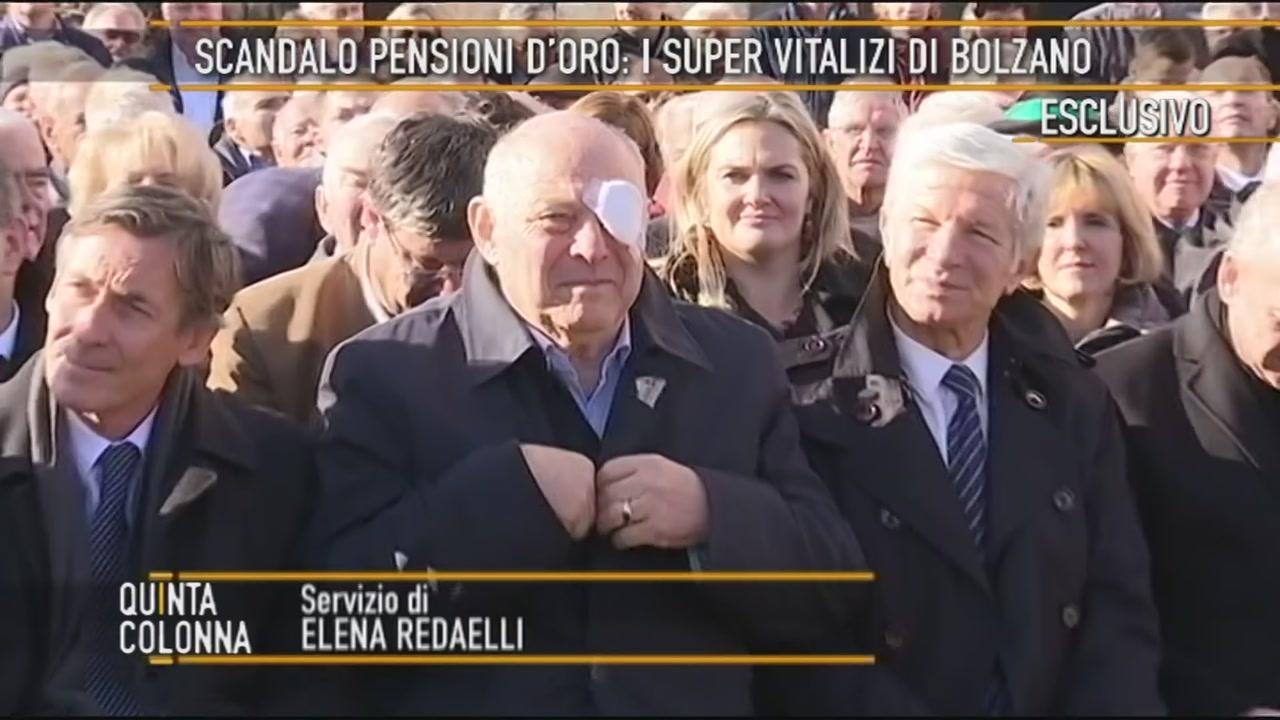 Lo scandalo pensioni d'oro: Luis Durnwalder