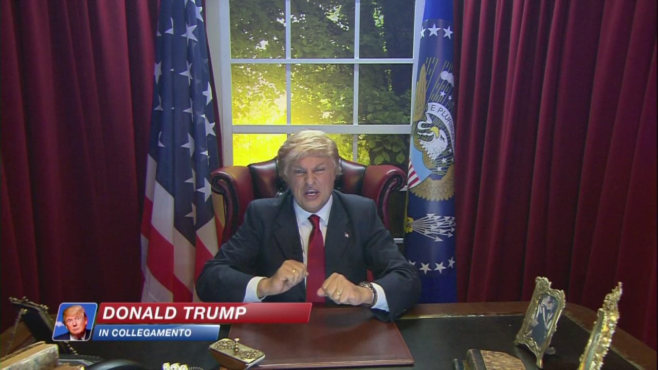 Collegamento con la Casa Bianca