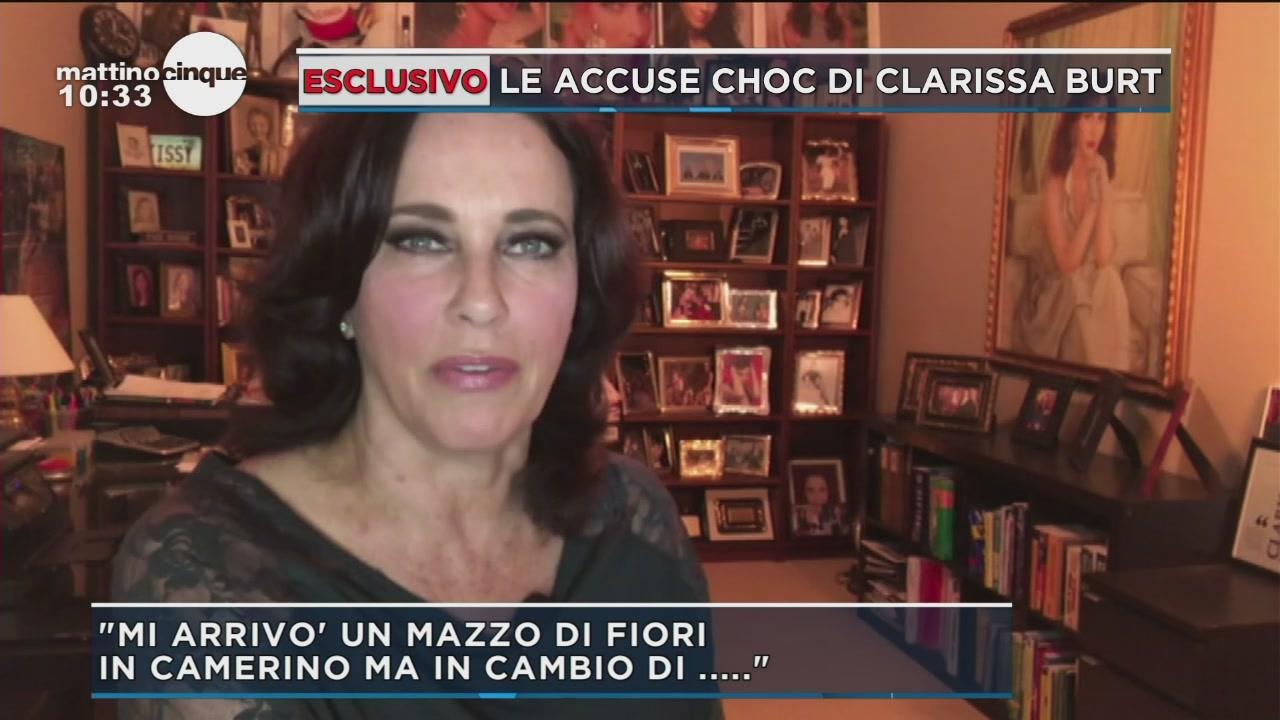 Le accuse choc di Clarissa Burt