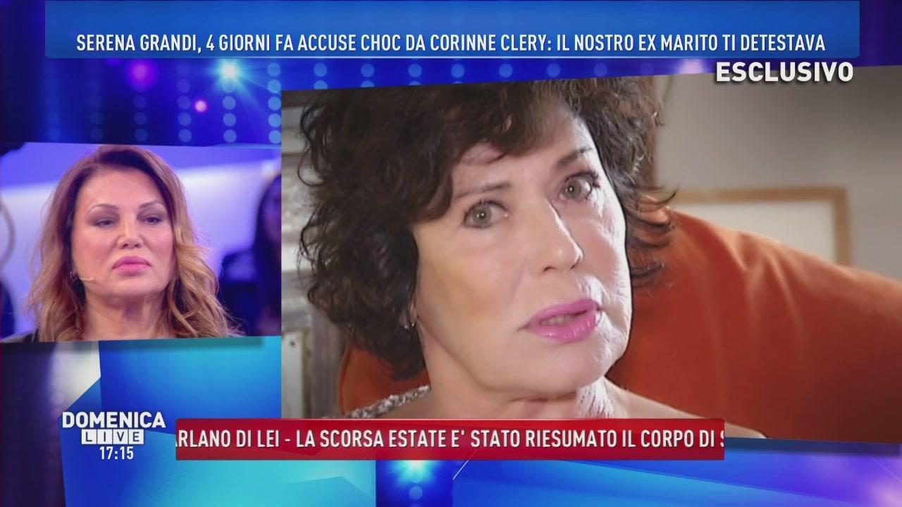 Serena Grandi e Corinne Clery