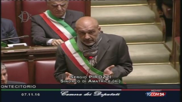Pirozzi (Sindaco di Amatrice): 'Ci stanno abbandonando'