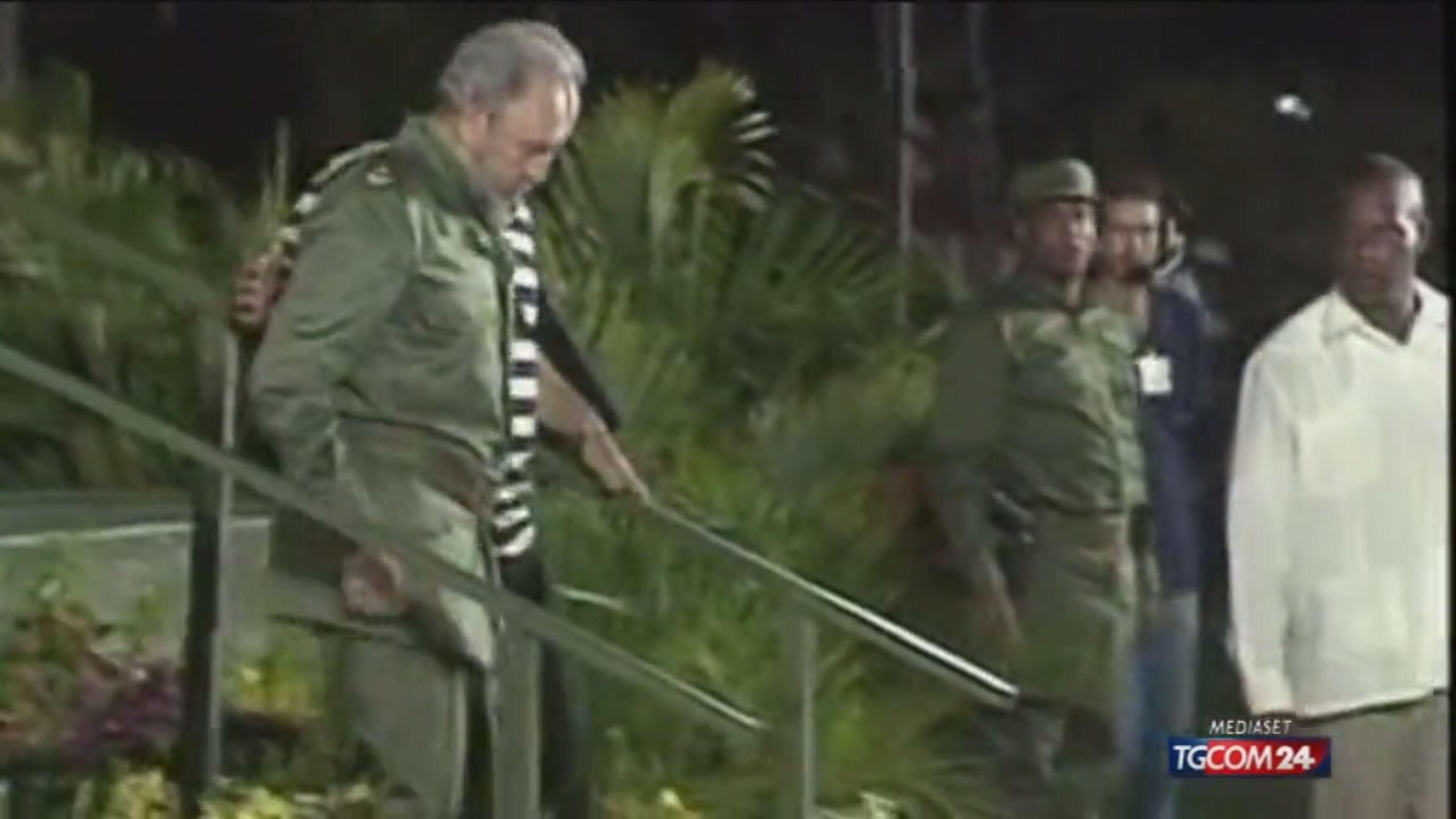 Fidel Castro compie 90 anni