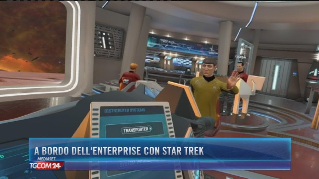 A bordo dell'Enterprise con Star Trek
