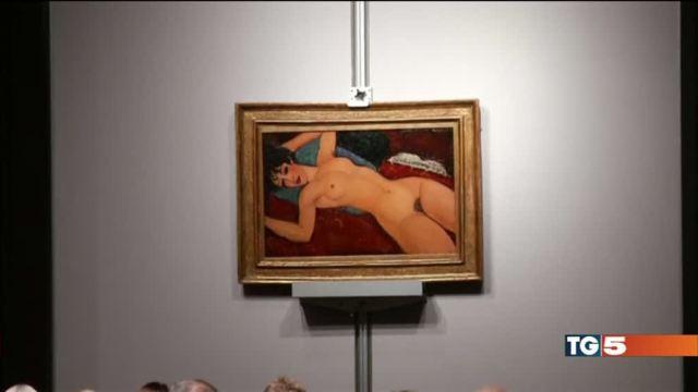 Cala il mercato dell'arte