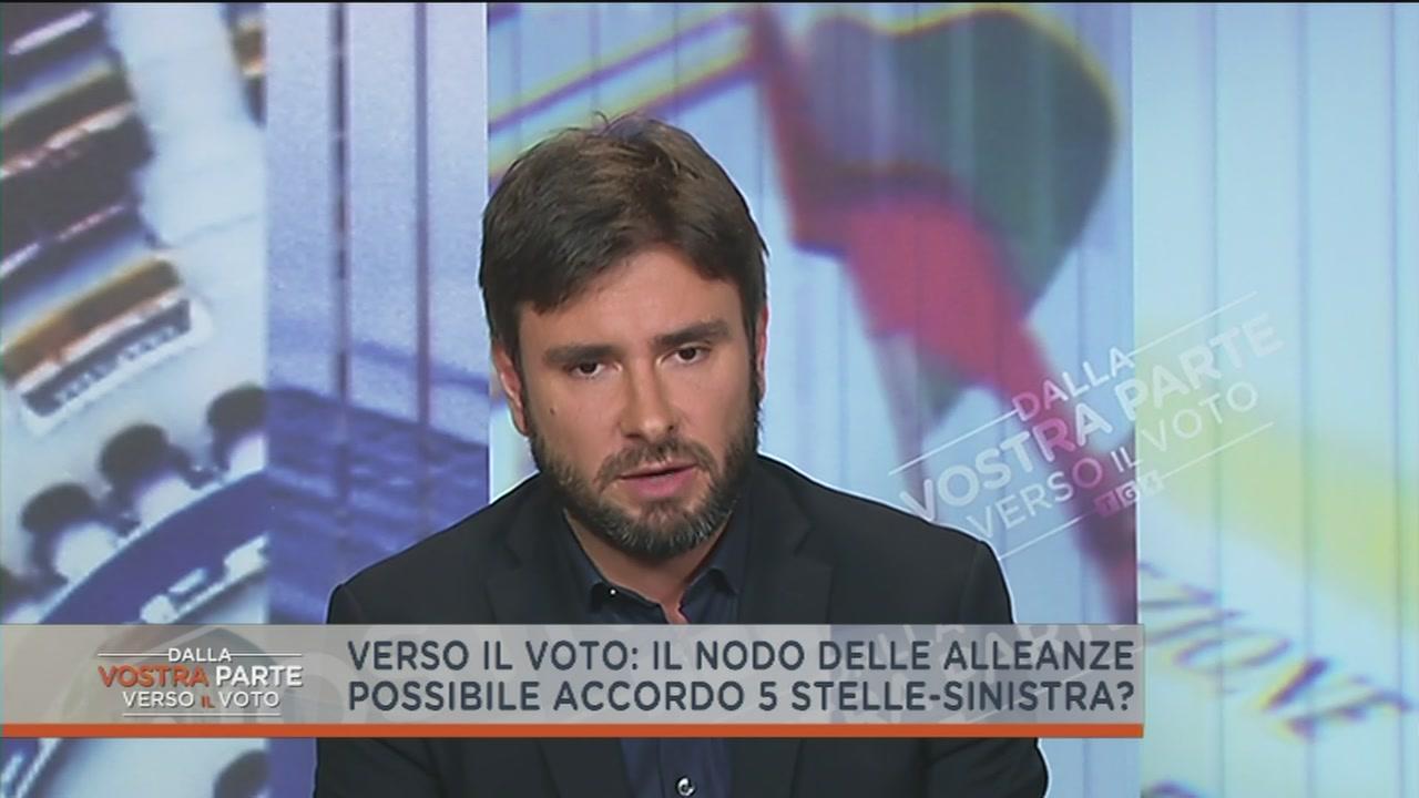 Alessandro Di Battista e i numeri per governare