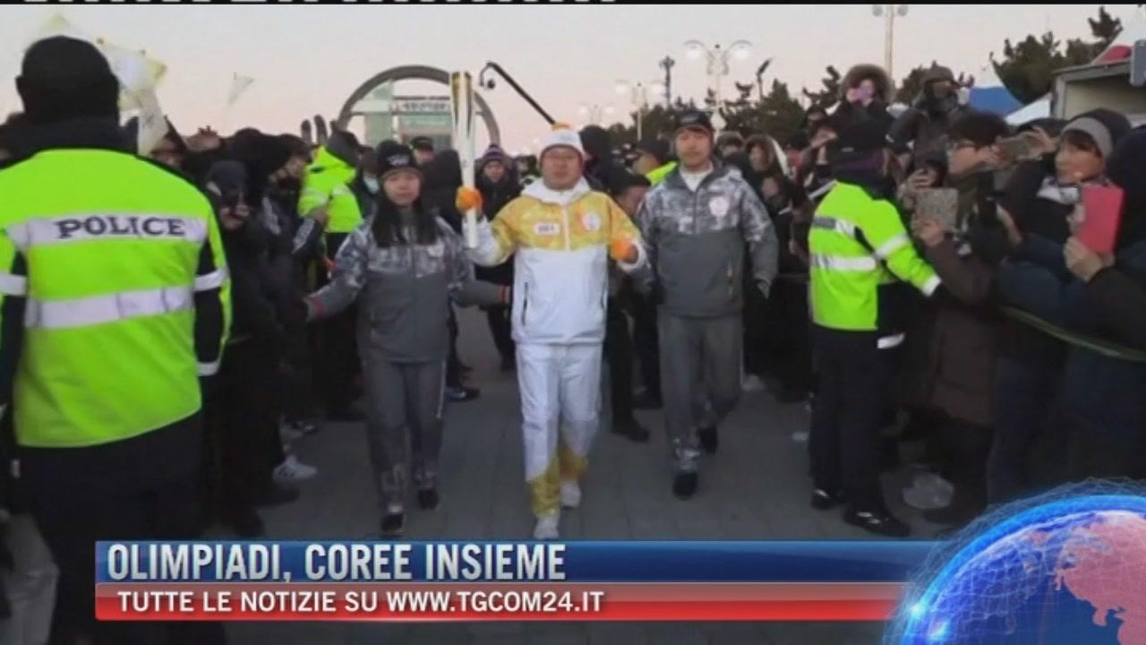 "Breaking News delle ore 16.00: ""Olimpiadi, Coree Insieme"""