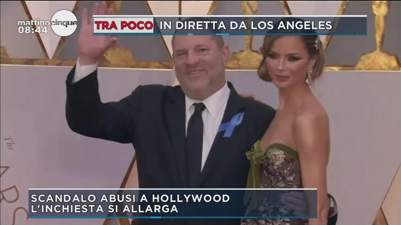 Scandalo abusi a Hollywood
