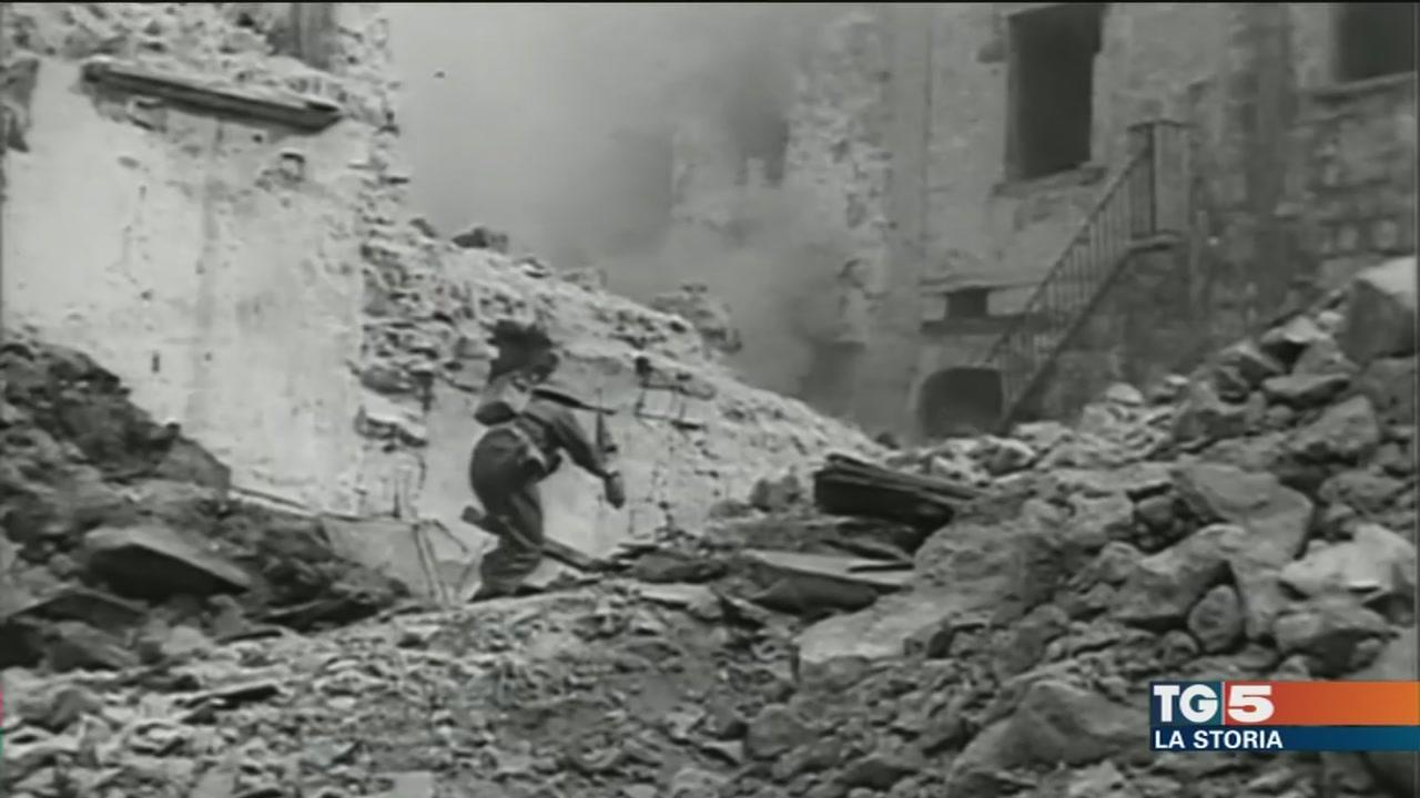 Il bombardamento di Montecassino-Copia