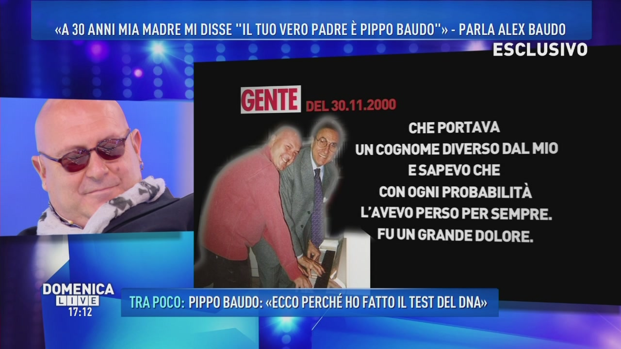 Pippo Baudo parla di Mirella Adinolfi