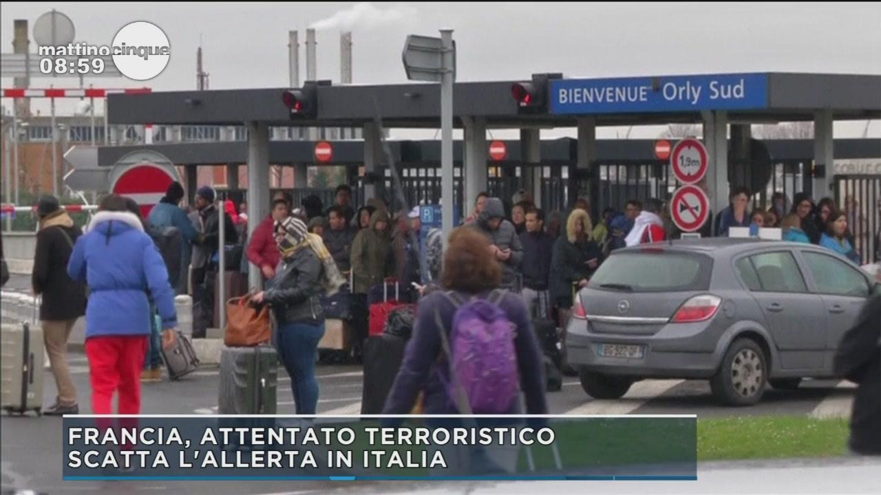 Francia, attentato terroristico