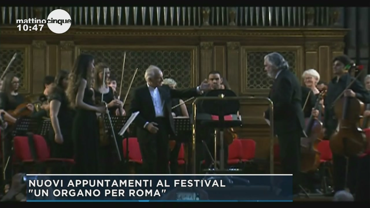 Concerti al Santa Cecilia di Roma