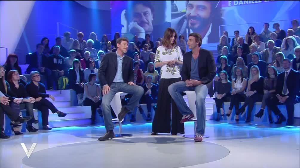 Giorgio Tirabassi e Daniele Liotti