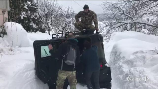 Sisma e neve, situazione ancora critica