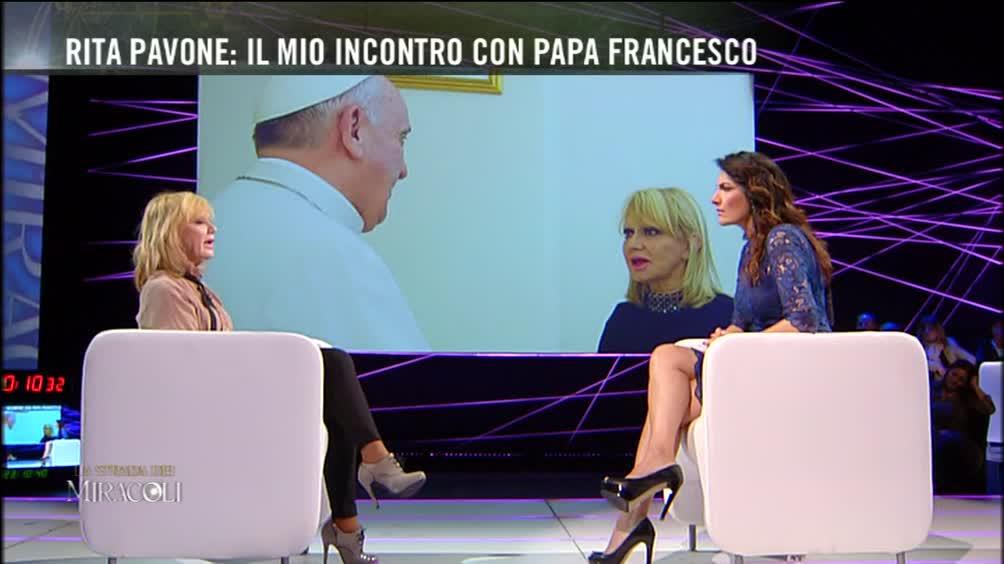 Rita Pavone e il Papa