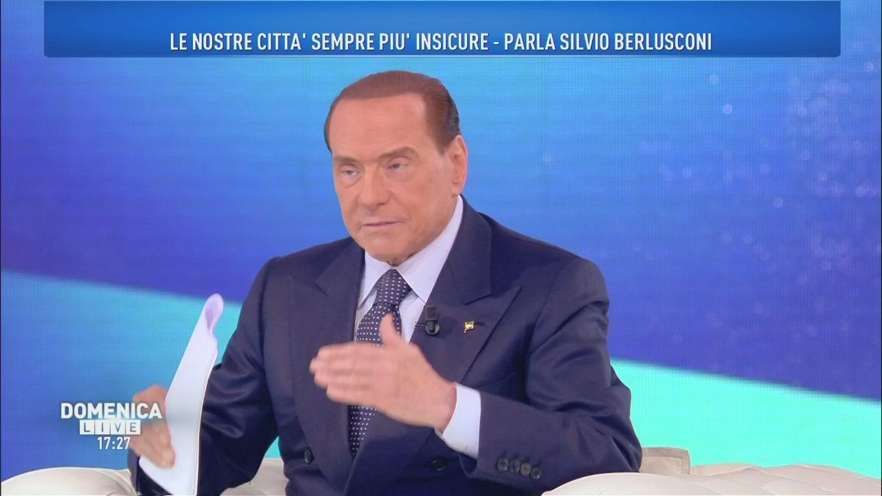 Silvio Berlusconi: il problema sicurezza