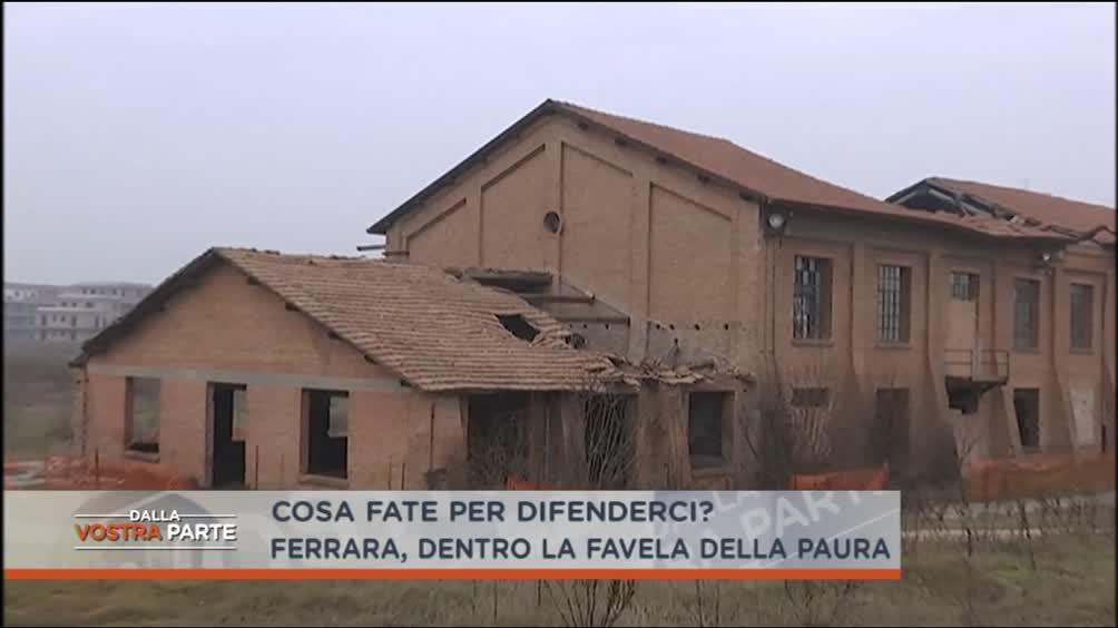 La favela di Ferrara