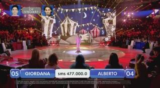 Alberto vs Giordana – La finalissima – XII esibizione