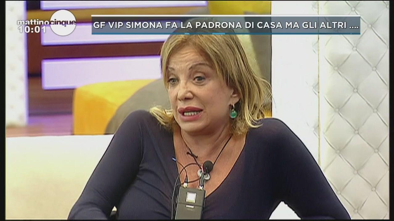 GF Vip: La terribile Simona